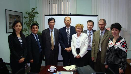 встреча АОКИ с Японской ассоциацией по торговле с Россией