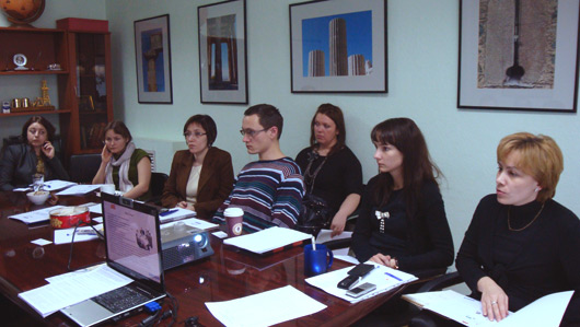 Встреча с представителями компании \